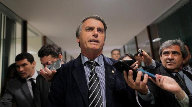 Operasi Hernia, Bolsonaro Bicara di KTT Amazon via Telepon