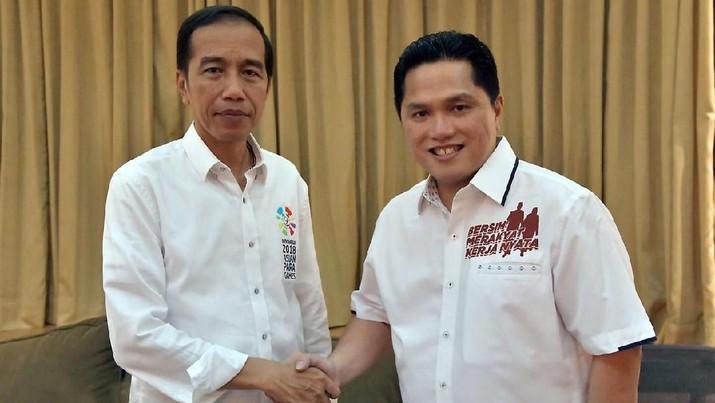 Erick Thohir, Bos Mahaka Group dan Komisaris Utama PT Mahaka Radio Integra Tbk (MARI), baru mengantongi dana triliunan selepas menjual sisa sahamnya.