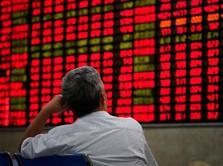 Abaikan Rilis Data Ekonomi, Indeks Shanghai Melesat 1,18%