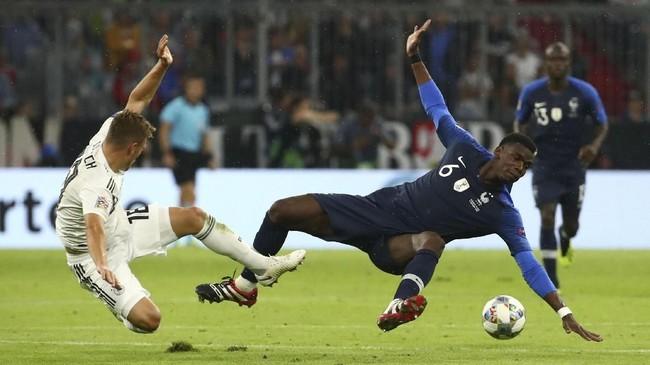 UEFA Nations League dibagi menjadi empat kasta dan disusun berdasarkan peringkat FIFA. Nantinya akan ada sistem promosi-degradasi di setiap akhir kompetisi. (REUTERS/Michael Dalder)