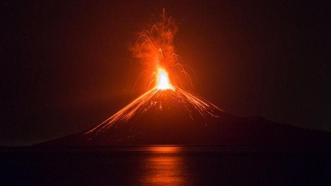Air Pasang di Anyer Diduga Tsunami Karena Erupsi Krakatau