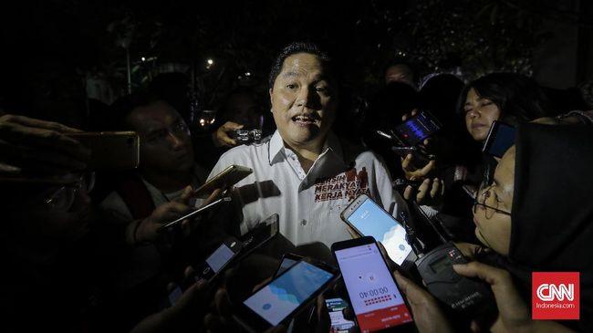 Erick Thohir: TGB Bebas Gabung Tim Kampanye atau Tidak