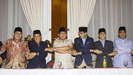 Tim Pemenangan Prabowo-Sandi Diisi 92 Nama
