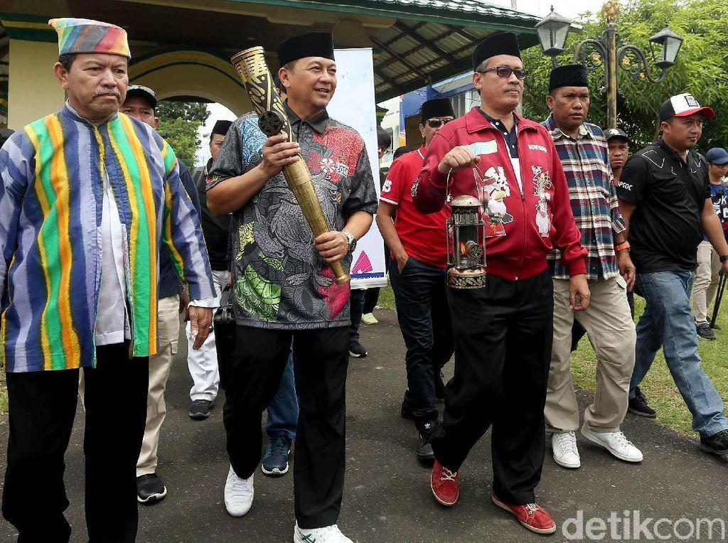Obor dan lentera Asian Para Games akan menginap semalam di Kesultanan Ternate setelah sebelumnya mulai diarak dari Solo, Jawa Tengah.