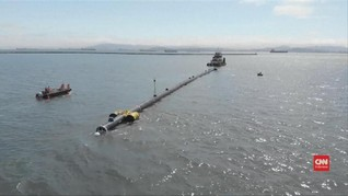 VIDEO: Aktivis Lingkungan Siap Angkut Sampah 'Raksasa' Lautan