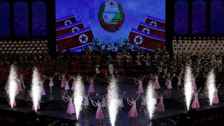 FOTO: Perayaan Ulang Tahun ke-70 Korea Utara