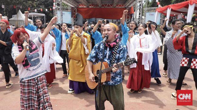 'Gelombang' Keceriaan AKB48 di Jak-Japan Matsuri 2018