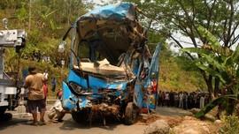Bus Masuk Jurang di Sukabumi Diduga Dikemudikan Sopir Tembak