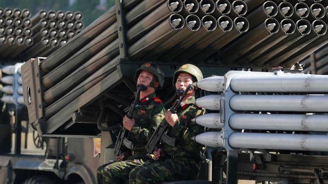 AS-Korsel Latihan Perang, Korut Ancam Luncurkan Rudal Lagi
