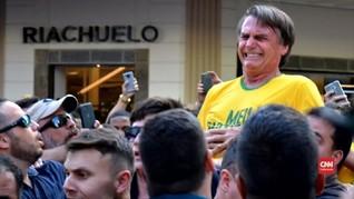 VIDEO: Capres Brasil Bolsonaro Tak Bisa Lanjutkan Kampanye