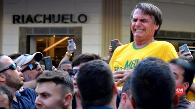 Memburuk, Capres Brasil yang Ditikam Lakukan Operasi Tambahan
