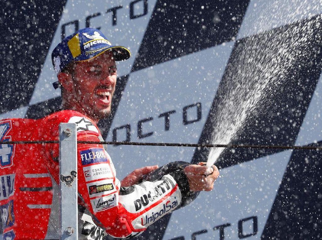 Berapa gaji Andrea Dovizioso di Ducati? Setahun dia dibayar Rp 103 miliar (Max Rossi/ REUTERS)