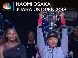 Juara US Open, Naomi Osaka Bawa Tenis Jepang ke Elit Dunia