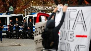 Kematian Warga Jerman Kembali Picu Aksi Protes Ekstrem Kanan