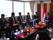 Suasana Lawatan Jokowi Bertemu Bos Perusahaan Korsel