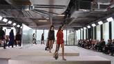 Longchamp membuat debut di New York Fashion Week 2019. (AFP PHOTO / Angela Weiss)