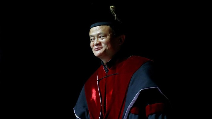 FILE PHOTO: Jack Ma, founder of Chinese e-commerce giant Alibaba, receives an honorable doctoral degree at the Tel Aviv University, Israel May 3, 2018. REUTERS/Amir Cohen/File Photo