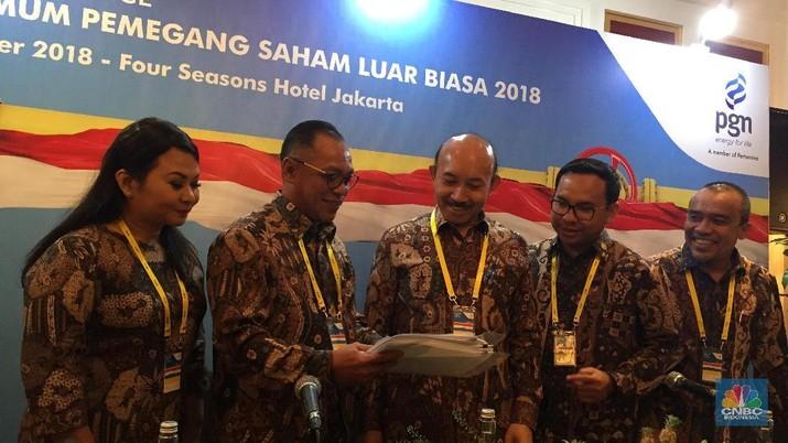 Gigih Prakoso resmi menggantikan Jobi Triananda sebagai direktur utama PGN, ini fokus kerjanya.