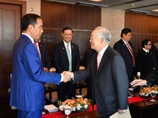 Di Korsel, Jokowi Tagih Komitmen Investasi Hyundai di RI