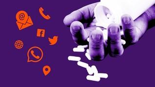 INFOGRAFIS: Mencegah Keinginan Bunuh Diri dengan Konsultasi