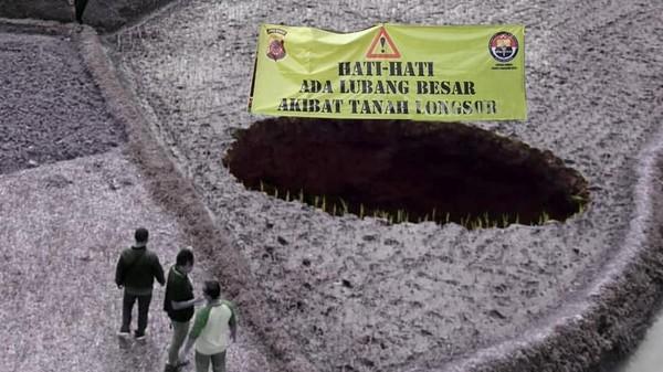 Lubang Misterius di Sukabumi