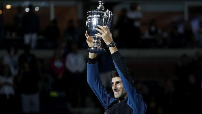 Raih Gelar AS Terbuka, Djokovic Utang pada Federer dan Nadal