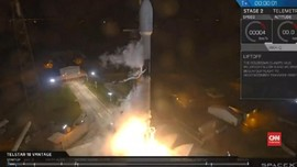 VIDEO: Falcon 9 Berhasil Diluncurkan