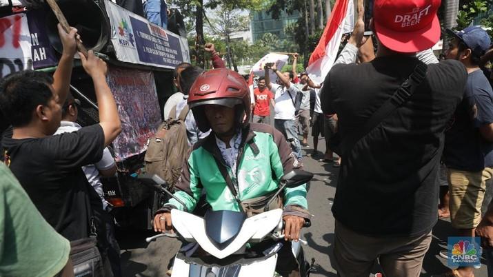 Lagi, Driver Ojek Online Ancam Demo Besar Pada 19 September