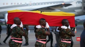 VIDEO: Jasad Kofi Annan Tiba di Ghana