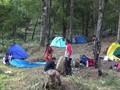 VIDEO: Kebakaran Paksa Pendaki Gunung Lawu Turun Gunung