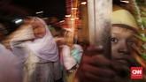 Pawai obor ini berlangsung menyambut pergantian Tahun Baru Islam 1 Muharram 1440 Hijriah yang jatuh pada Selasa (11/9). (CNNIndonesia/Safir Makki)