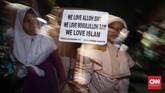Tahun baru Islam menandakan hari pertama dalam kalender Islam. (CNNIndonesia/Safir Makki)