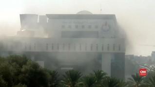 VIDEO: Terror Ledakan di Gedung NOC Libya