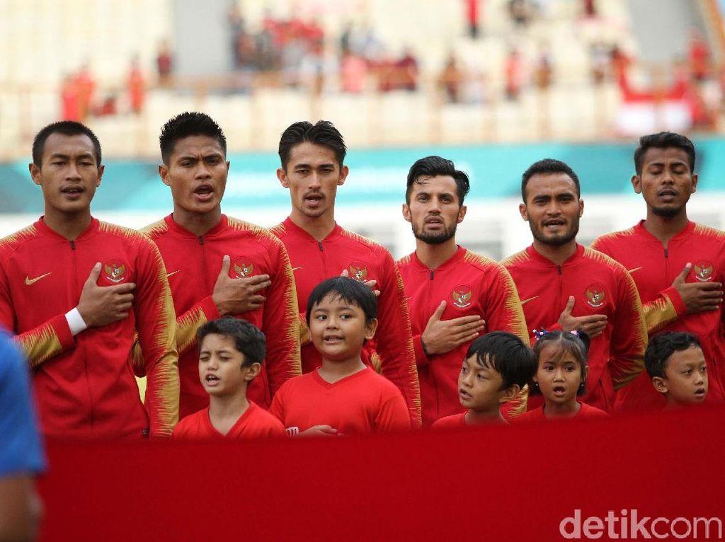 Skuat yang diturunkan pelatih Kurniawan saat menghadapi Mauritius.