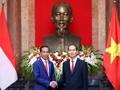 Temui Presiden Vietnam, Jokowi Minta Hapus Hambatan Ekspor RI