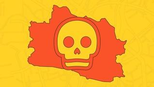 INFOGRAFIS: Kecelakaan Sukabumi dan Jalur Maut di Jawa Barat