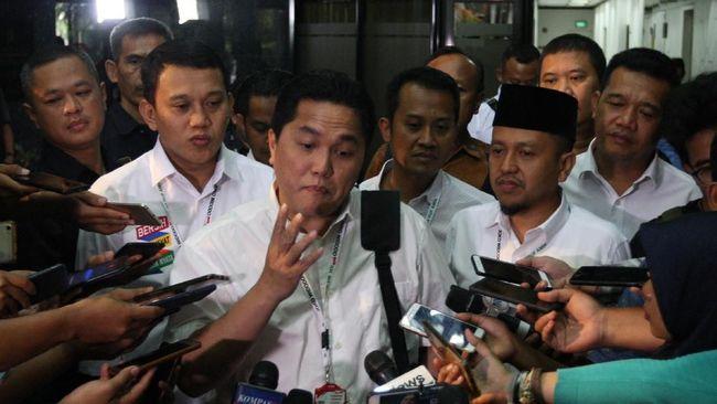 Tak Dukung Prabowo, Erick Thohir Persilakan Tanya Sandi