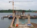 Penampakan Jembatan Terbaru, Penghubung Kota di Kalimantan