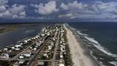 Air dan aliran listrik akan dimatikan, tapi diperkirakan ini tidak menghambat pergerakan penduduk. (Mark Wilson/Getty Images/AFP)