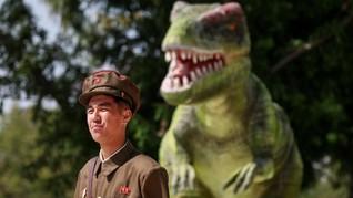 FOTO: Ceria Korea Utara Dapat Museum Sejarah Alam Baru