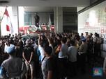 Setelah Grab, Hari Ini Driver Online Demo di Kantor Go-Jek