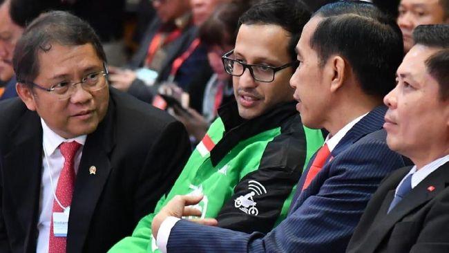 Hadiri Peluncuran Goviet, Jokowi Puji Ekspansi Gojek