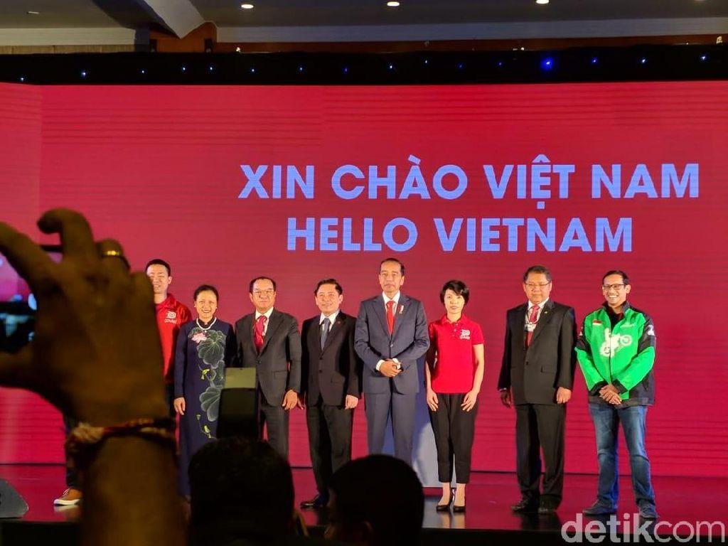 Peluncuran Go-Viet sendiri menjadi penanda operasional pertama Go-Jek di luar negeri. Hal ini juga sekaligus menepis anggapan bahwa perusahaan yang didirikan Nadiem Makarim pada 2010 ini cuma jago kandang. (Foto: detikINET/Adi Fida Rahman)