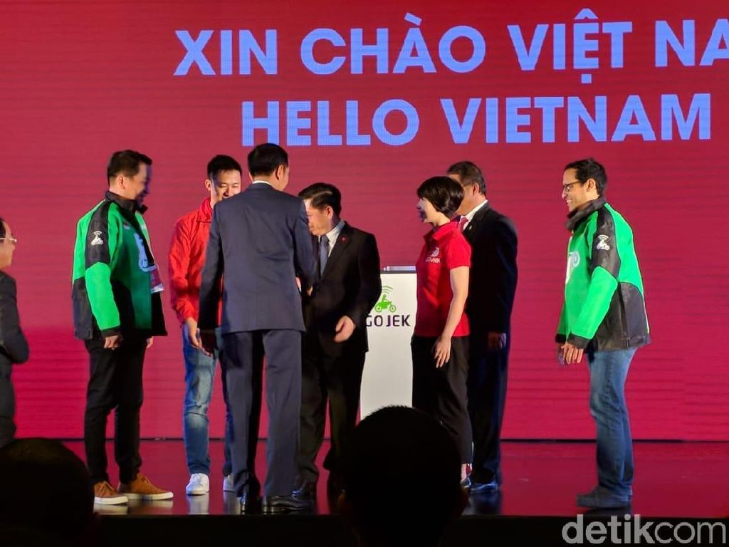 Seperti diketahui setelah diumumkannya ekspansi Go-Jek ke kancah internasional Juni lalu, layanan ride sharing tersebut mulai mengaspal secara soft launching di Vietnam melalui brand Go-Viet pada awal Agustus. (Foto: detikINET/Adi Fida Rahman)
