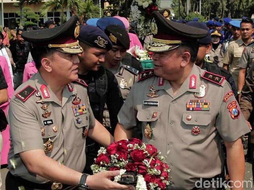 Machfud juga berpesan kepada Irjen Pol Luki Hermawan agar menjaga Kamtibmas di Jatim/Foto: Istimewa