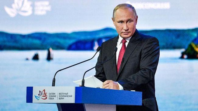 Putin Tantang Jepang Damai Tanpa Syarat Tahun ini