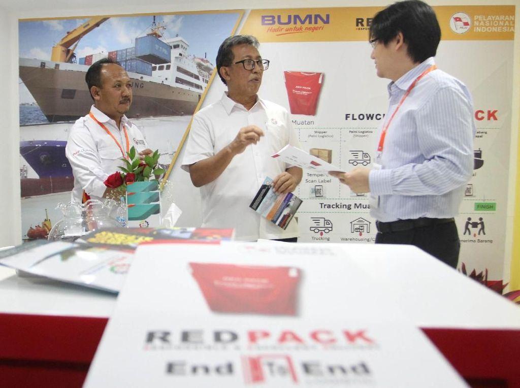 Dengan jaringan kapal penumpang dan Tol Laut yang menjangkau ke banyak wilayah di Indonesia, PT Pelni (Persero) optimis dapat meningkatkan bisnis logistiknya.Foto: dok. Pelni