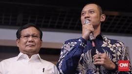 Prabowo dan AHY Bertemu Bahas Pembagian Daerah Kampanye