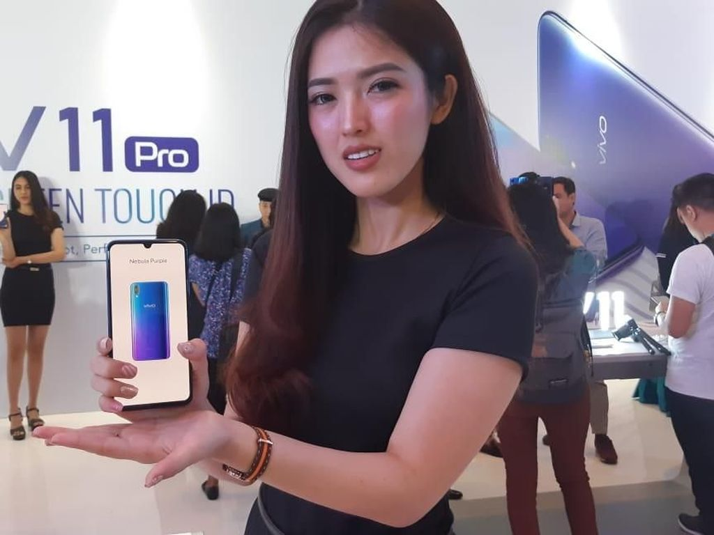 Vivo V11 Pro didukung prosesor Qualcomn Snapdragon 660. Foto: Virgina Maulita Putri/detikINET