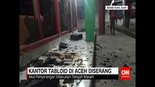 Kantor Tabloid Diserang Orang Tak Dikenal